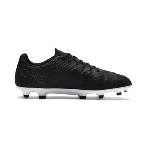 Thumbnail 5 of PUMA ONE 19.4 FG/AG Men's Soccer Cleats, Puma Black-Puma Black-White, medium