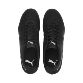 Thumbnail 6 of PUMA ONE 19.4 FG/AG Men's Soccer Cleats, Puma Black-Puma Black-White, medium