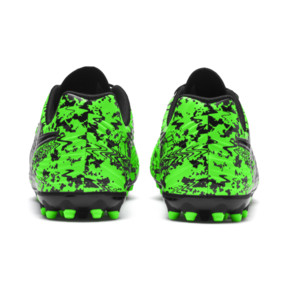Thumbnail 3 of PUMA ONE 19.4 MG Men's Football Boots, Green Gecko-Black-Gray, medium