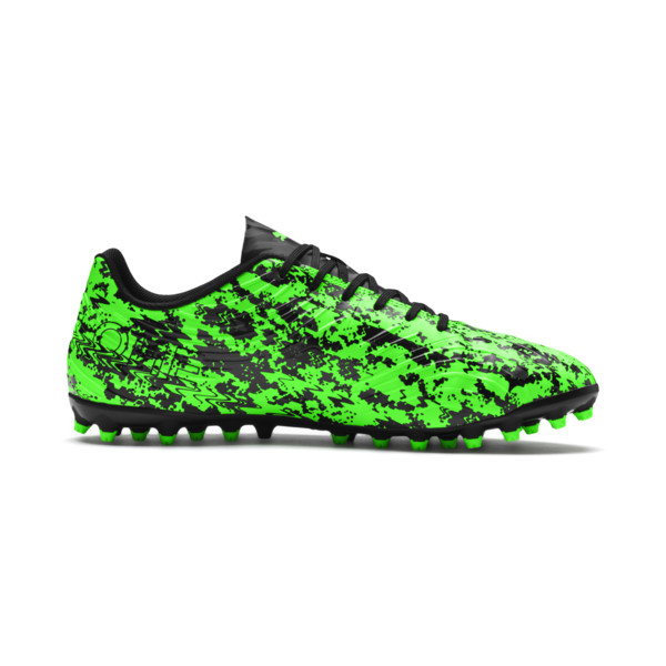PUMA ONE 19.4 MG Men's Football Boots, Green Gecko-Black-Gray, large