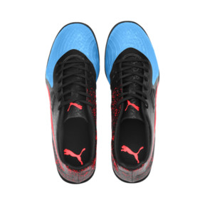 Thumbnail 6 of PUMA ONE 19.4 TT Football Boot, Bleu Azur-Red Blast-Black, medium