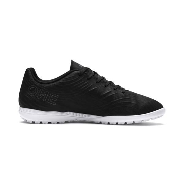 PUMA ONE 19.4 TT Football Boot, Puma Black-Puma Black-White, large