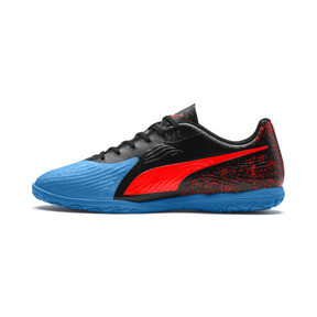 Thumbnail 1 of PUMA ONE 19.4 IT Men's Football Boots, Bleu Azur-Red Blast-Black, medium