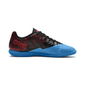 Thumbnail 7 of PUMA ONE 19.4 IT Men's Football Boots, Bleu Azur-Red Blast-Black, medium