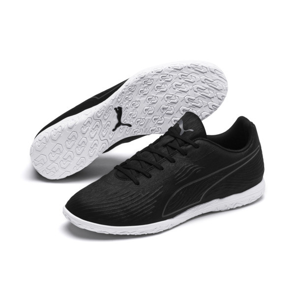PUMA ONE 19.4 IT Men's Football Boots, Puma Black-Puma Black-White, large