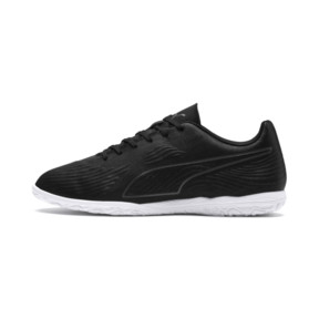 Thumbnail 1 of PUMA ONE 19.4 IT Men's Football Boots, Puma Black-Puma Black-White, medium