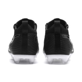 Thumbnail 3 of PUMA ONE 19.3 FG/AG Youth Football Boots, Puma Black-Puma Black-White, medium