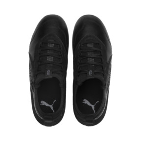 Thumbnail 6 of PUMA ONE 19.3 FG/AG Youth Football Boots, Puma Black-Puma Black-White, medium