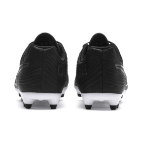 Thumbnail 4 of PUMA ONE 19.4 FG/AG Soccer Cleats JR, Puma Black-Puma Black-White, medium