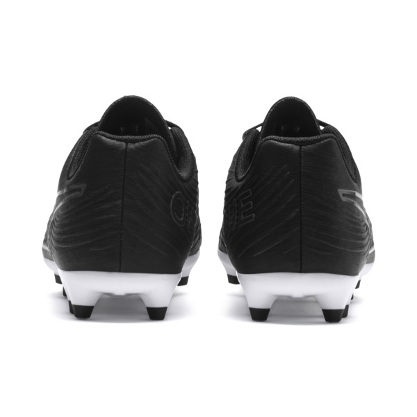 PUMA ONE 19.4 FG/AG Soccer Cleats JR, Puma Black-Puma Black-White, large