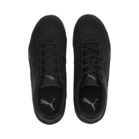 Thumbnail 6 of PUMA ONE 19.4 FG/AG Soccer Cleats JR, Puma Black-Puma Black-White, medium