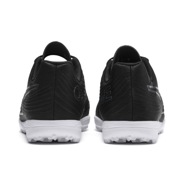 PUMA ONE 19.4 TT Soccer Cleats JR, Puma Black-Puma Black-White, large