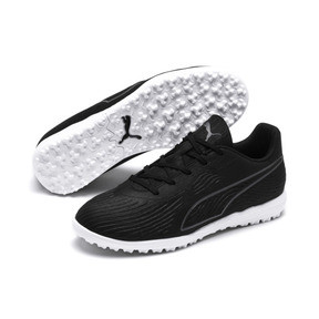 Thumbnail 2 of PUMA ONE 19.4 TT Soccer Cleats JR, Puma Black-Puma Black-White, medium