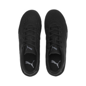 Thumbnail 6 of PUMA ONE 19.4 TT Soccer Cleats JR, Puma Black-Puma Black-White, medium
