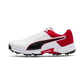 Thumbnail 1 van PUMA Spike 19.2 cricketschoenen voor mannen, Wit-zwart-High Risk Red, medium