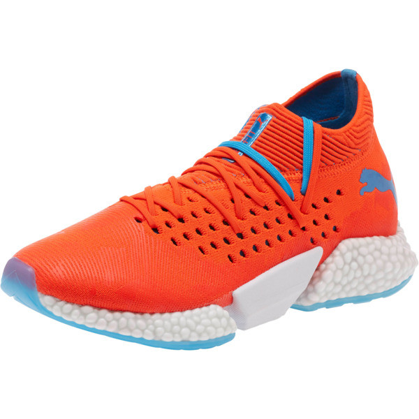 FUTURE Rocket Men's Running Shoes, Red Blast-Bleu Azur, large