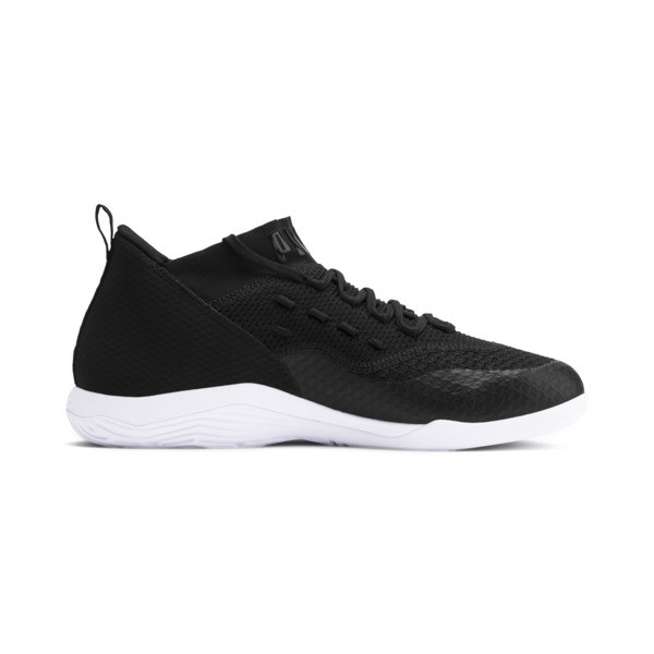 365 IGNITE FUSE 2 Men's Soccer Shoes, Puma Black-Puma White, large
