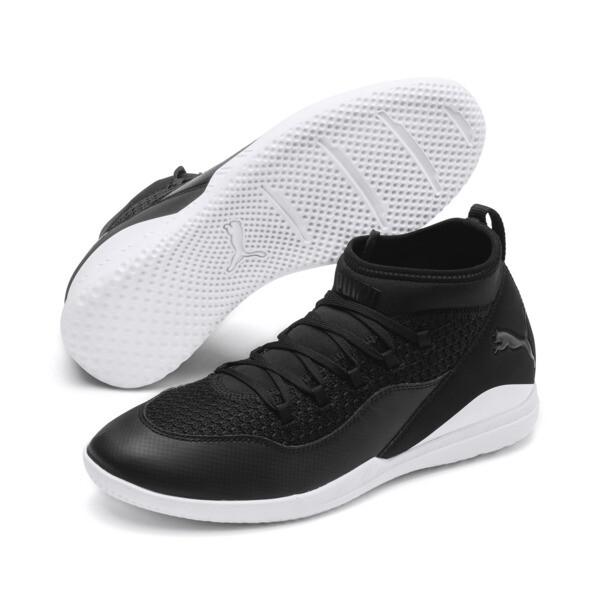 365 FF CT Men's Football Boots, Puma Black-Puma White, large