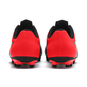 Thumbnail 4 of PUMA Spirit II FG Men's Soccer Cleats, Puma Black-Red Blast, medium