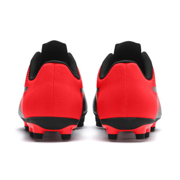 PUMA Spirit II FG Men's Soccer Cleats, Puma Black-Red Blast, large