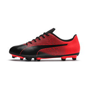 Thumbnail 1 of PUMA Spirit II FG Men's Soccer Cleats, Puma Black-Red Blast, medium
