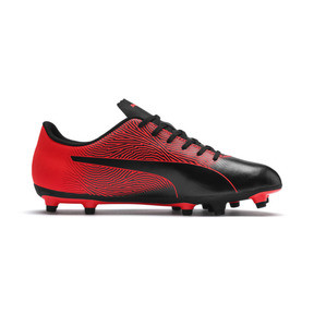 Thumbnail 5 of PUMA Spirit II FG Men's Soccer Cleats, Puma Black-Red Blast, medium
