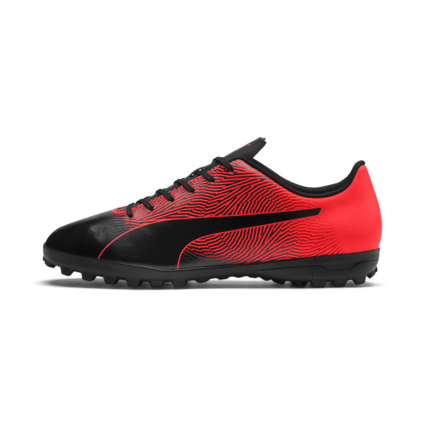 PUMA Spirit II TT Men's Soccer Shoes, Puma Black-Red Blast, large