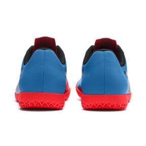 Thumbnail 4 of PUMA Spirit II IT Men's Soccer Shoes, Black-Bleu Azur-Red Blast, medium