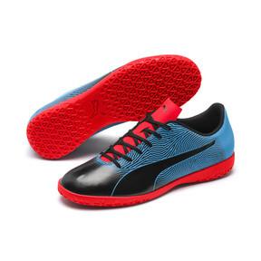Thumbnail 2 of PUMA Spirit II IT Men's Soccer Shoes, Black-Bleu Azur-Red Blast, medium