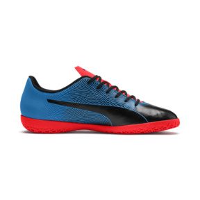 Thumbnail 5 of PUMA Spirit II IT Men's Soccer Shoes, Black-Bleu Azur-Red Blast, medium