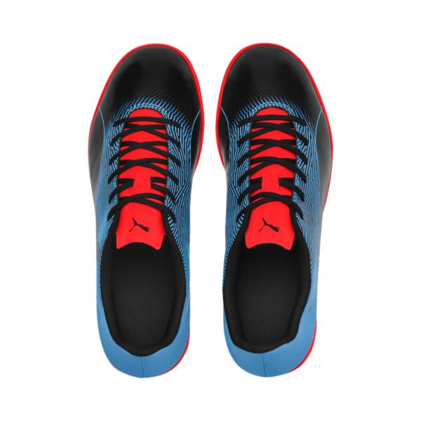 PUMA Spirit II IT Men's Soccer Shoes, Black-Bleu Azur-Red Blast, large