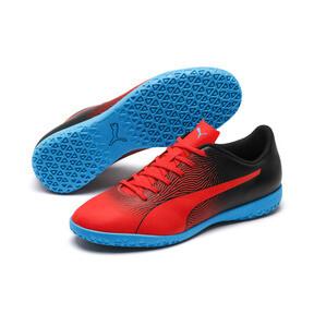 Thumbnail 2 of PUMA Spirit II IT Men's Soccer Shoes, Red Blast-Black-Bleu Azur, medium