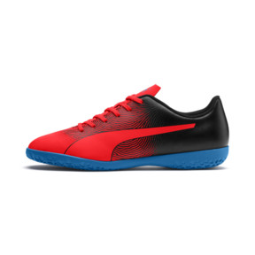Thumbnail 1 of PUMA Spirit II IT Men's Soccer Shoes, Red Blast-Black-Bleu Azur, medium