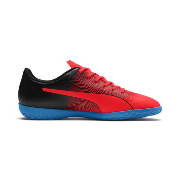 PUMA Spirit II IT Men's Soccer Shoes, Red Blast-Black-Bleu Azur, large