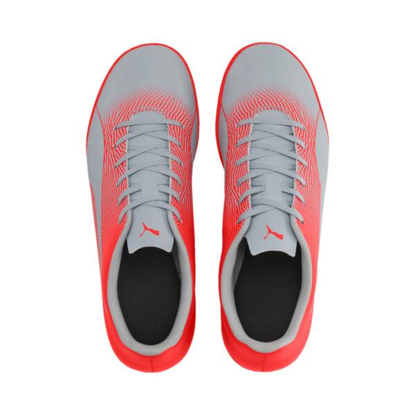 Zapatos de fútbol PUMA Spirit II IT para hombre, Glacial Blue-Nrgy Red, grande
