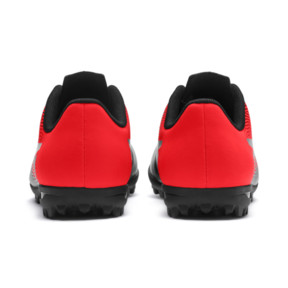 Thumbnail 4 of PUMA Spirit II TT Soccer Shoes JR, Puma Black-Red Blast, medium