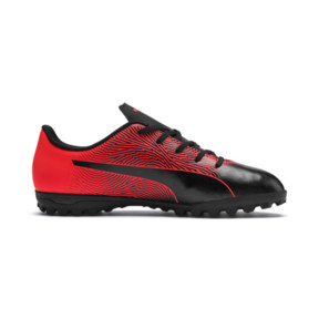Thumbnail 5 of PUMA Spirit II TT Soccer Shoes JR, Puma Black-Red Blast, medium