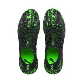 Thumbnail 6 of フューチャー 19.1 NETFIT MX SG, Black-Gray-Green Gecko, medium-JPN