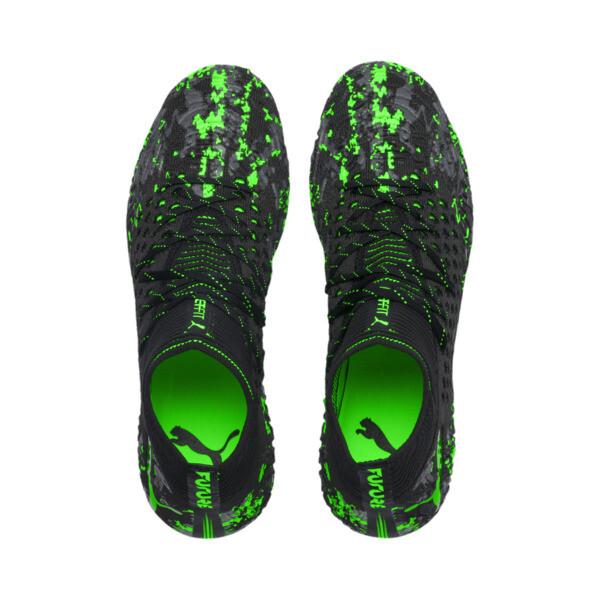 フューチャー 19.1 NETFIT MX SG, Black-Gray-Green Gecko, large-JPN