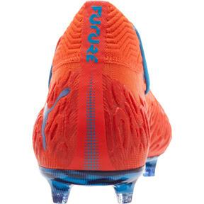 Thumbnail 4 of FUTURE 19.1 NETFIT FG/AG Men's Soccer Cleats, Red Blast-Bleu Azur, medium