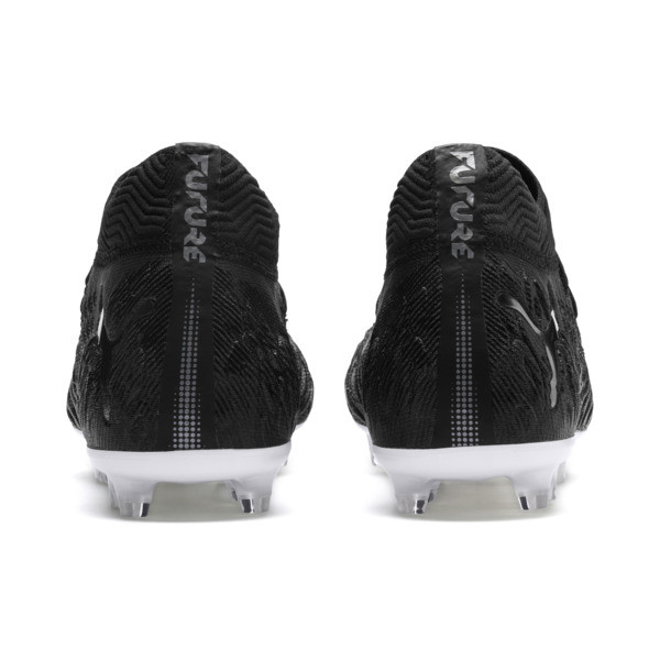 FUTURE 19.1 NETFIT FG/AG Men's Football Boots, Black-Black-White, large