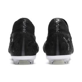 Thumbnail 3 of FUTURE 19.1 NETFIT FG/AG Men's Soccer Cleats, Black-Black-White, medium
