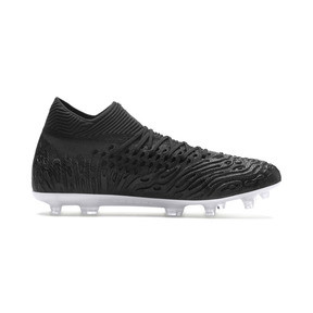 Thumbnail 5 of Chaussure de foot FUTURE 19.1 NETFIT FG/AG pour homme, Black-Black-White, medium