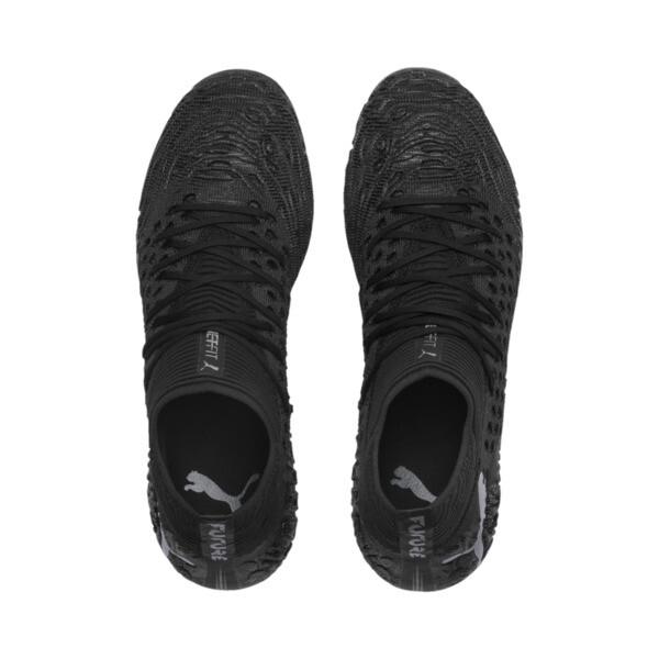 FUTURE 19.1 NETFIT FG/AG Men's Soccer Cleats, Black-Black-White, large