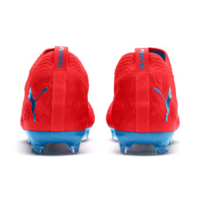 Thumbnail 4 of FUTURE 19.2 NETFIT FG/AG Herren Fußballschuhe, Red Blast-Bleu Azur, medium
