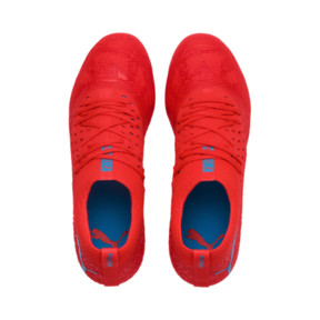 Thumbnail 7 of FUTURE 19.2 NETFIT FG/AG Herren Fußballschuhe, Red Blast-Bleu Azur, medium