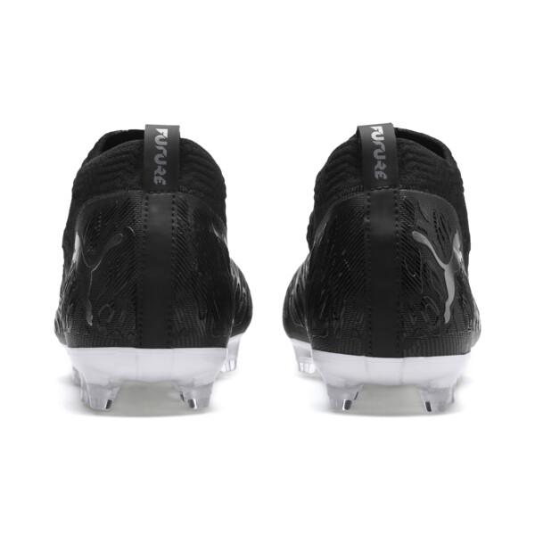 Botas de fútbol de hombre FUTURE 19.2 NETFIT FG/AG, Puma Black-Puma Black-White, grande