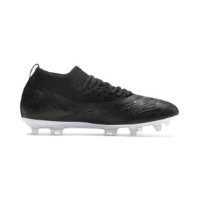 Thumbnail 5 of FUTURE 19.2 NETFIT FG/AG Men's Football Boots, Puma Black-Puma Black-White, medium
