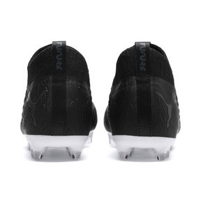 Thumbnail 3 of FUTURE 19.3 NETFIT FG/AG Men's Football Boots, Puma Black-Puma Black-White, medium