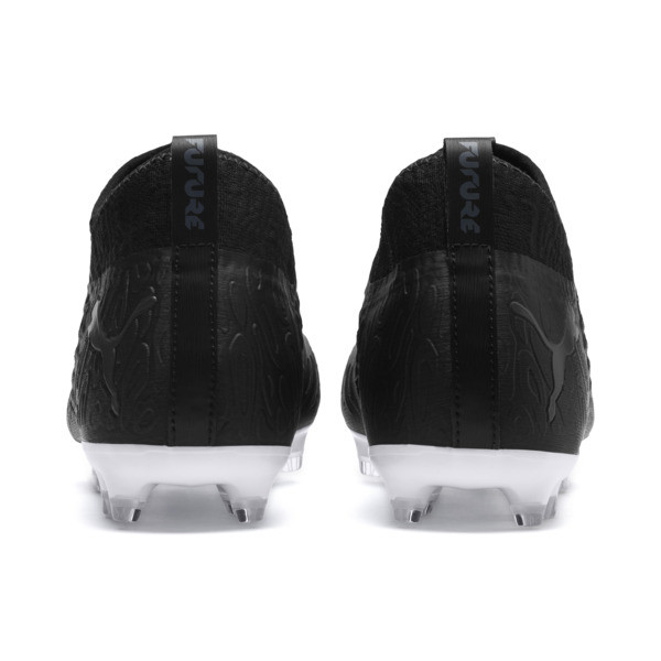 FUTURE 19.3 NETFIT FG/AG Men's Soccer Cleats, Puma Black-Puma Black-White, large